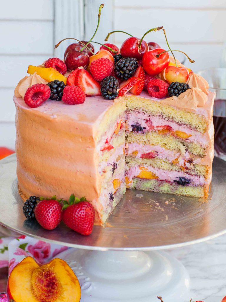 easy cake recipes for beginners sangria cake