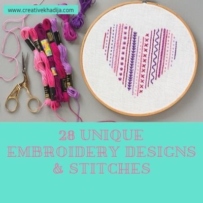 How To Embroider a Shirt in 28 Unique Embroidery Designs