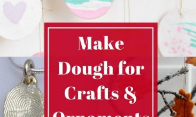 How to Make Dough for Crafts and Ornaments