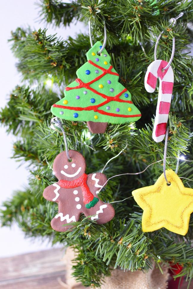 ideas for salt dough ornaments christmas tree
