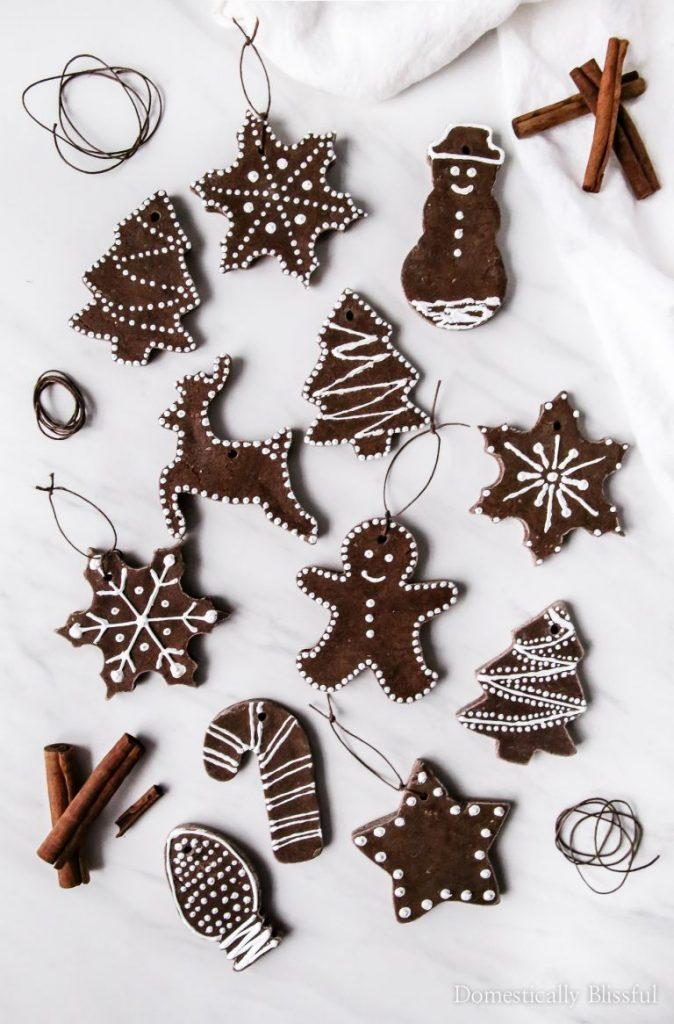 ideas for salt dough ornaments cinnamon ornaments