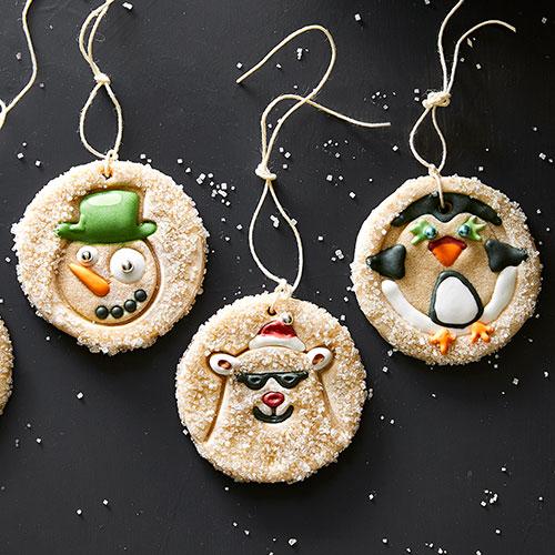 how to make salt dough ornaments animal ornaments