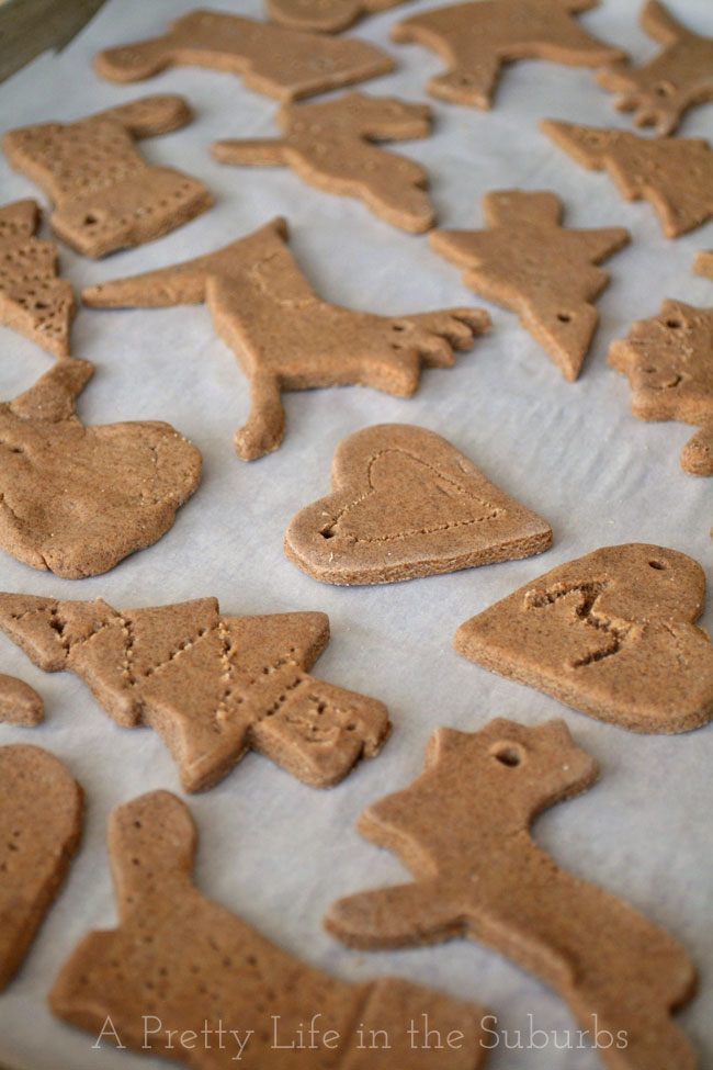 how to make salt dough ornaments christmas cinnamon ornament