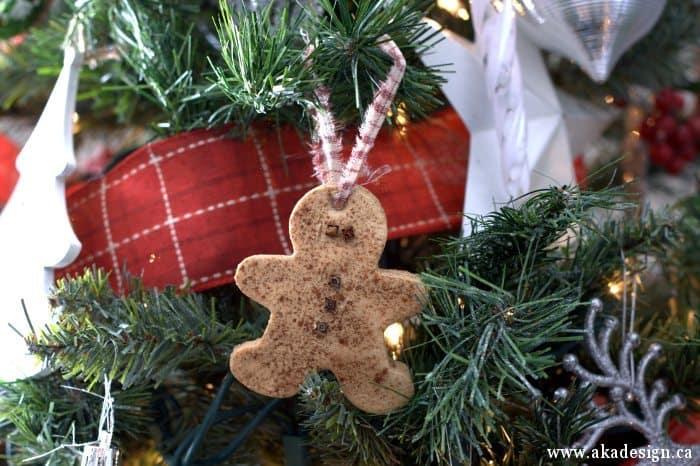 how to make salt dough ornaments gingerbread man