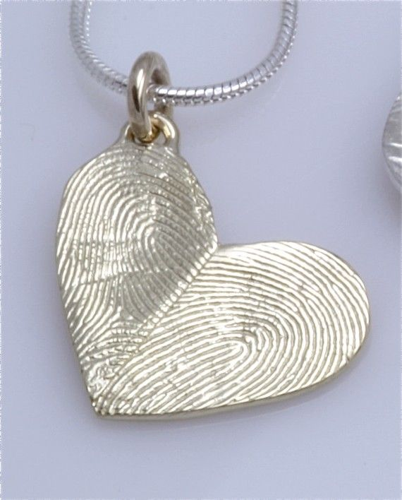 salt clay crafts for you to try heart pendant