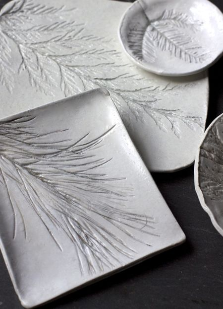 salt clay crafts for you to try serving dishes