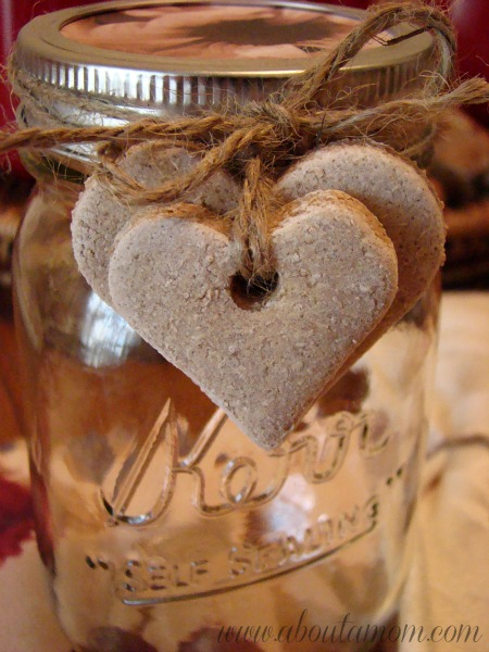 salt clay crafts for you to try heart tags