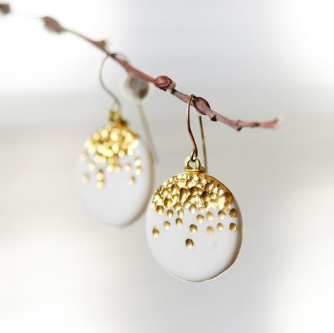 salt clay crafts for you to try earrings