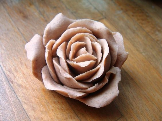 salt clay crafts for you to try roses
