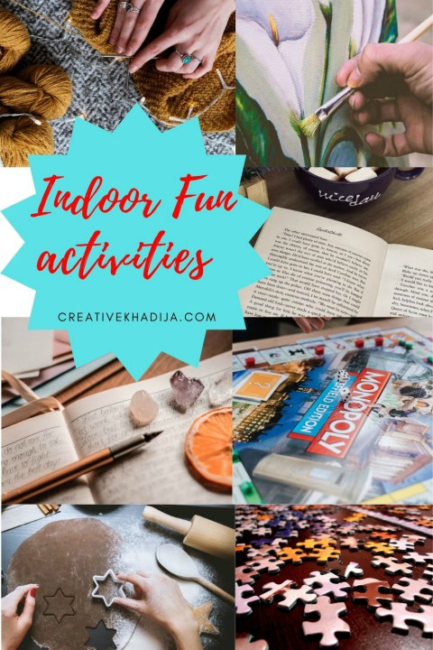 30 Indoor Things To Do