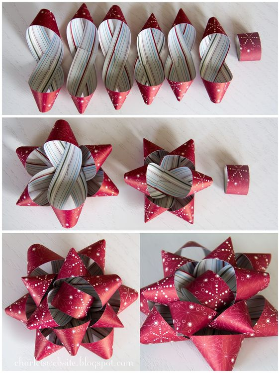 diy gift topper ideas star topper
