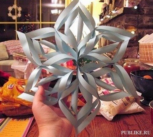diy gift topper ideas snowflake