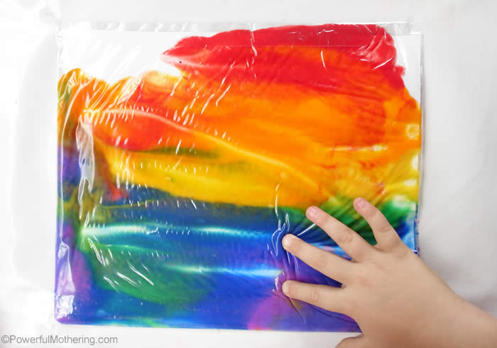 fun activities for kids rainbow in a bag