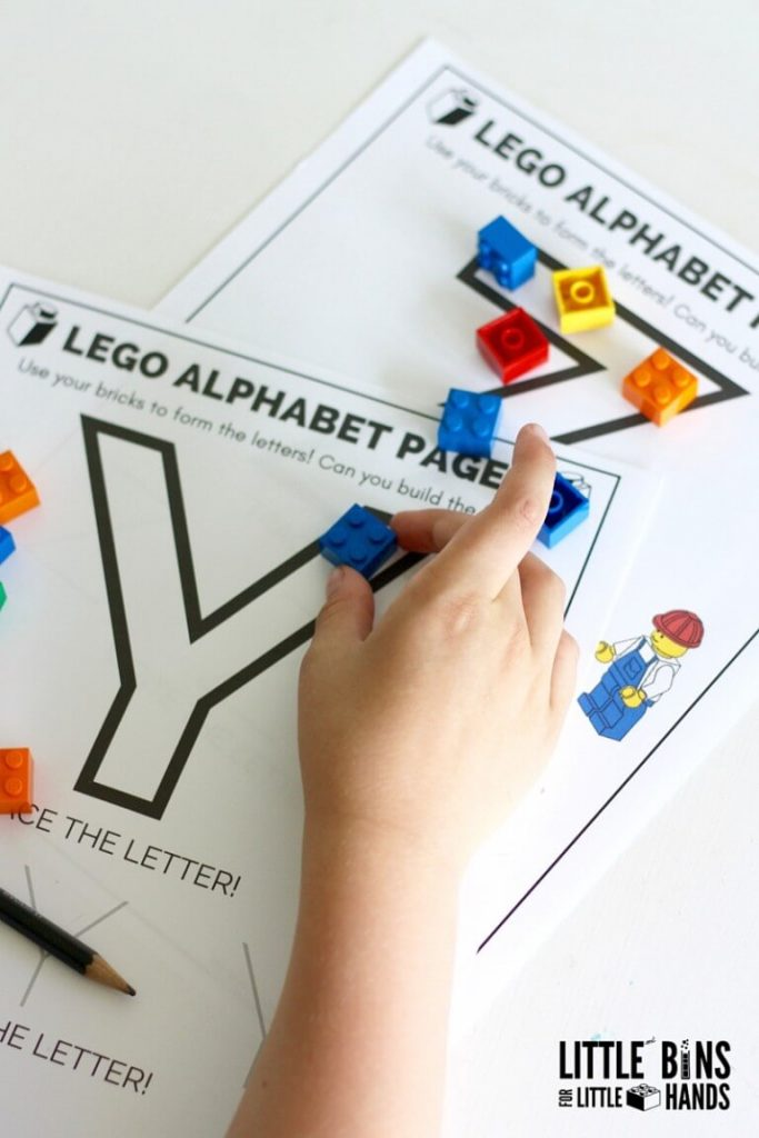 fun activities for kids lego letter