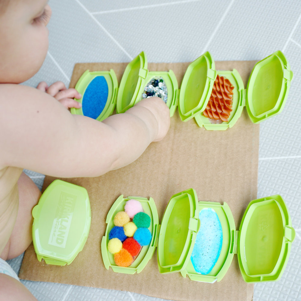 fun activities for kids sensory board