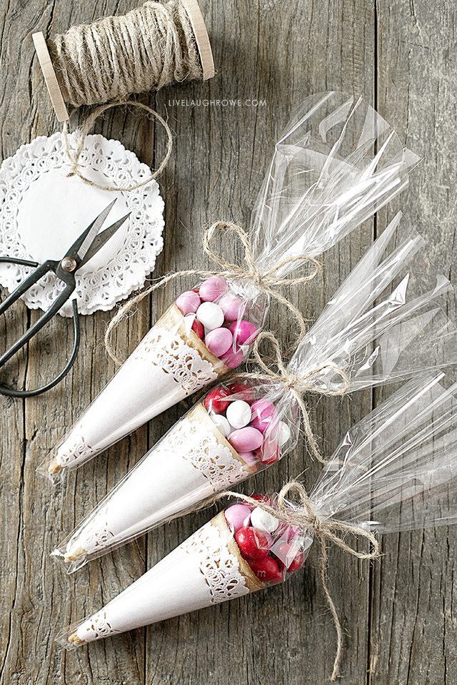 unique gift packing ideas for you to try cone wrapping