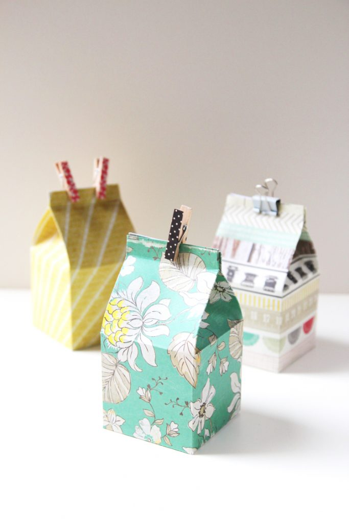 unique gift packing ideas for you to try milk carton box