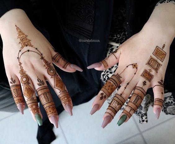 arabic design easy henna designs for fingers