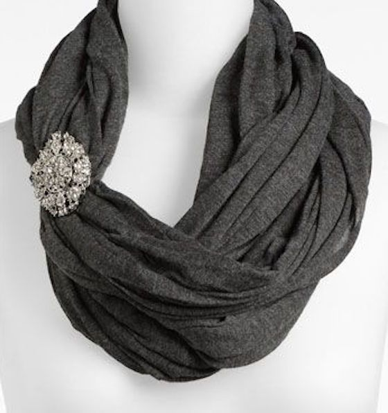 how to tie a scarf infinity scarf