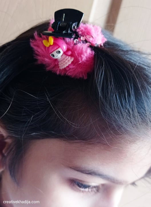 5 Minute Crafts For Kids | DIY Girls Hair Clip
