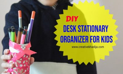 DIY Desk Organizer | 5 Minute Crafts For Kids