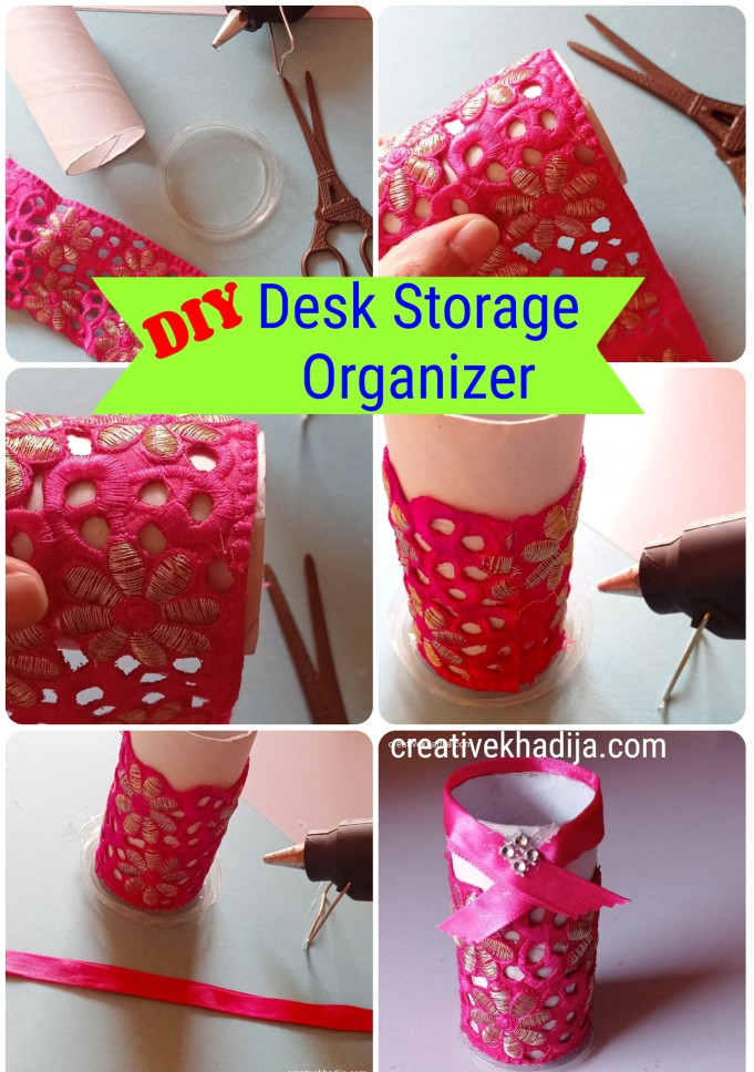 DIY Kids Desk Organizer | 5 Minute Crafts For Kids