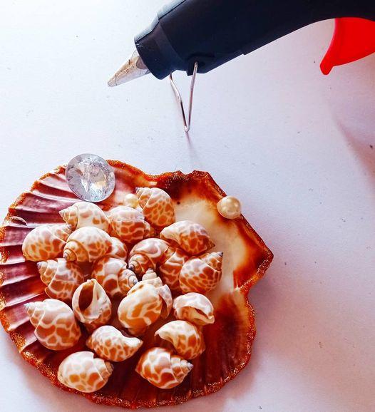 DIY Mirror Decor | Easy Art Ideas using Seashells | Seashell crafts tutorials