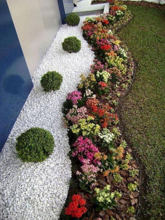 front garden ideas curved path design