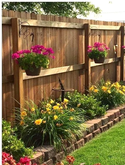 front garden ideas hanging planters