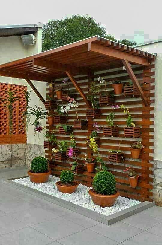 front garden ideas wall decor