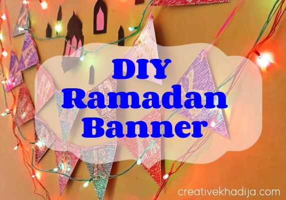 Ramadan Banner Making ideas