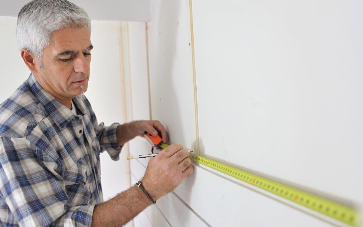 installing IKEA kitchen cabinets take measurments