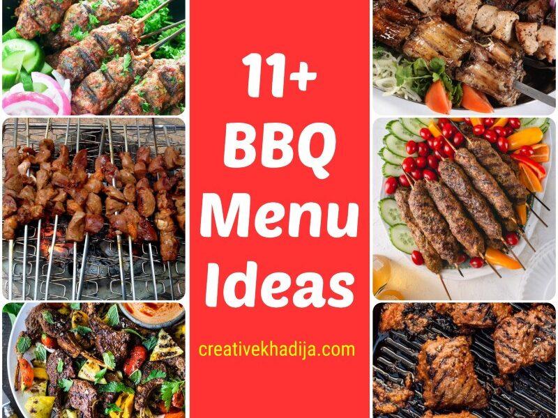 bbq menu ideas for eid al adha