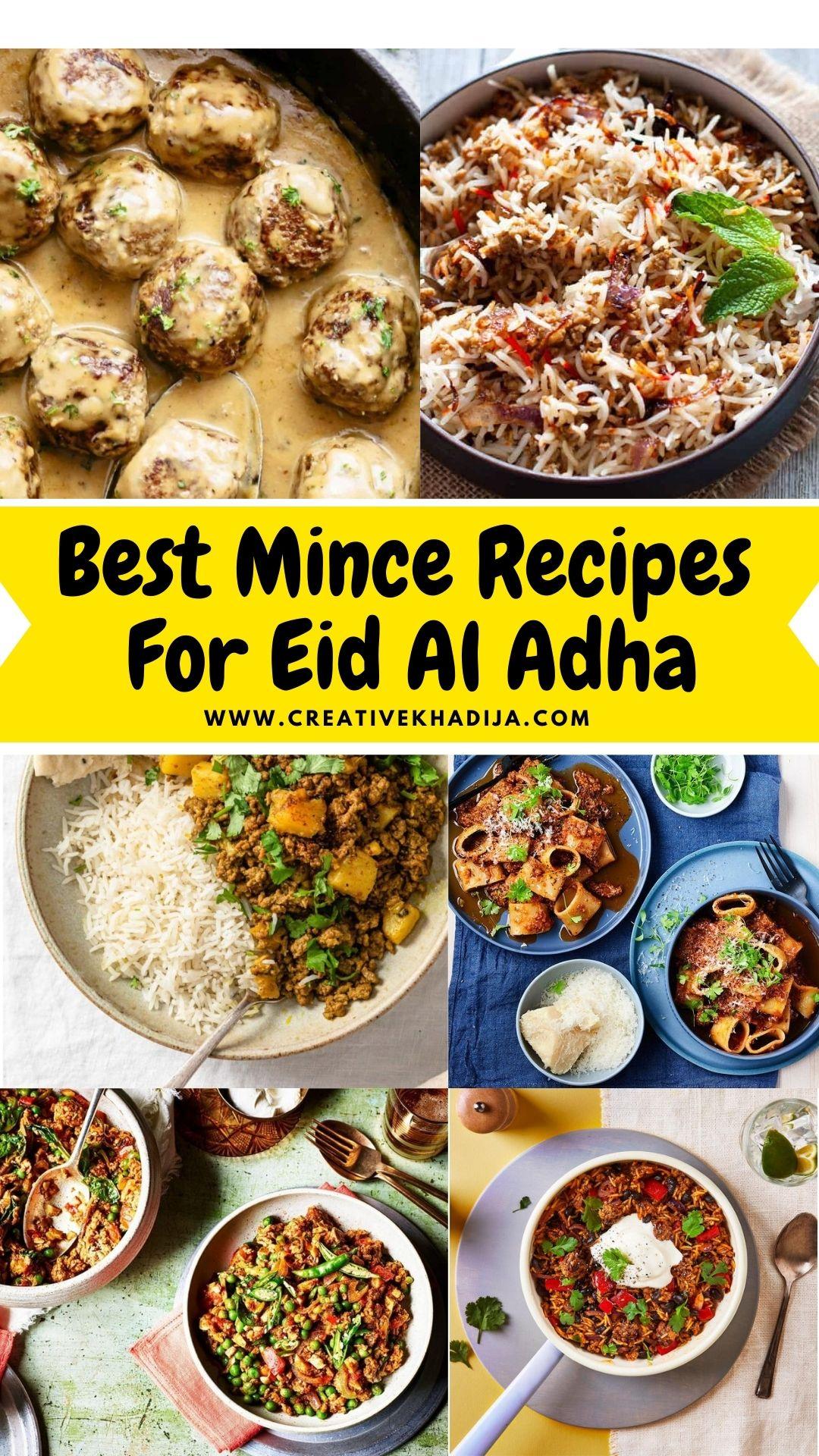 21 Best Mince Recipes Eid Al Adha 2021
