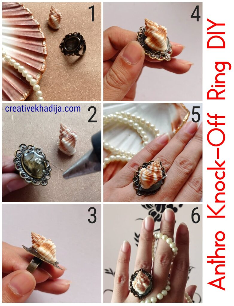 Anthro Ring Knock-Off   Do It Yourself