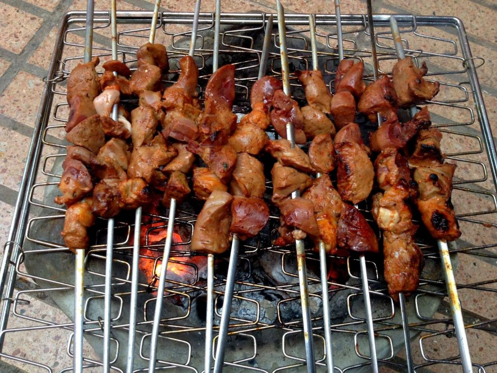 bbq menu ideas for eid al adha moroccan liver tikka