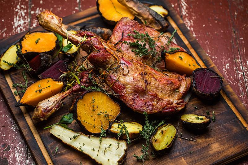 bbq menu ideas for eid al adha grilled leg of lamb