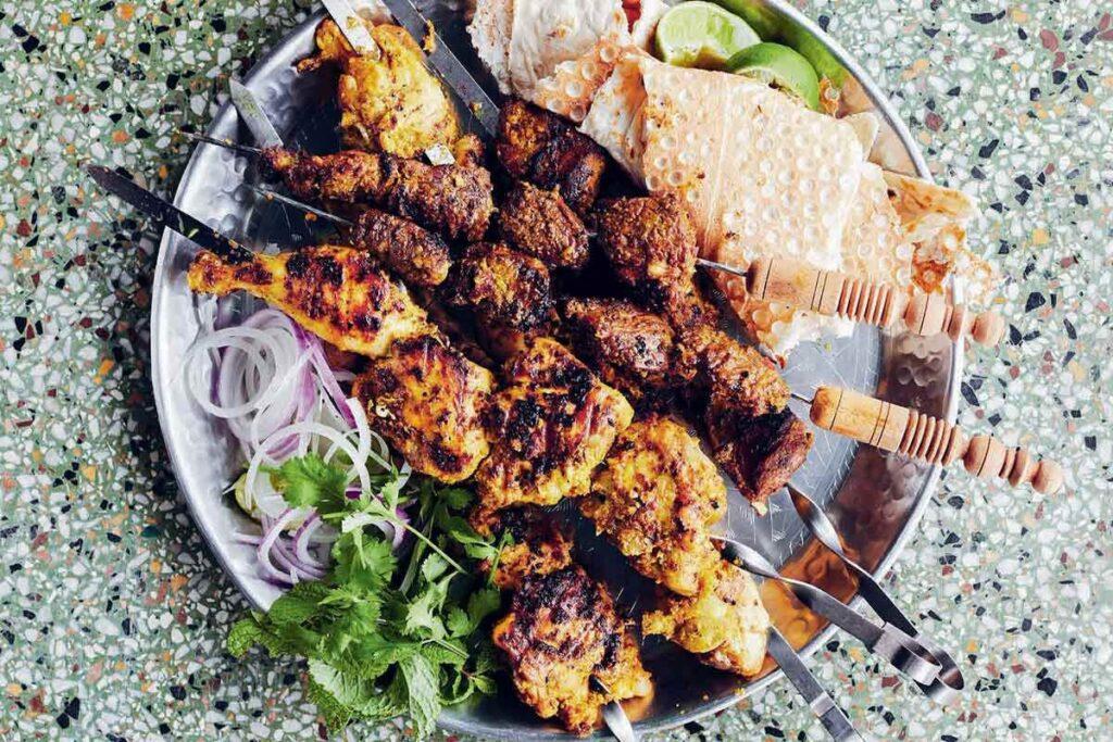 bbq menu ideas for eid al adha lamb skewers