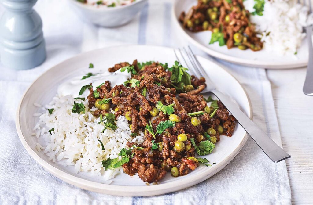 mince curry recipes for you to try matar keema