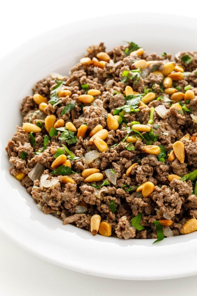 mince curry recipes for you to try lebanese hushwee