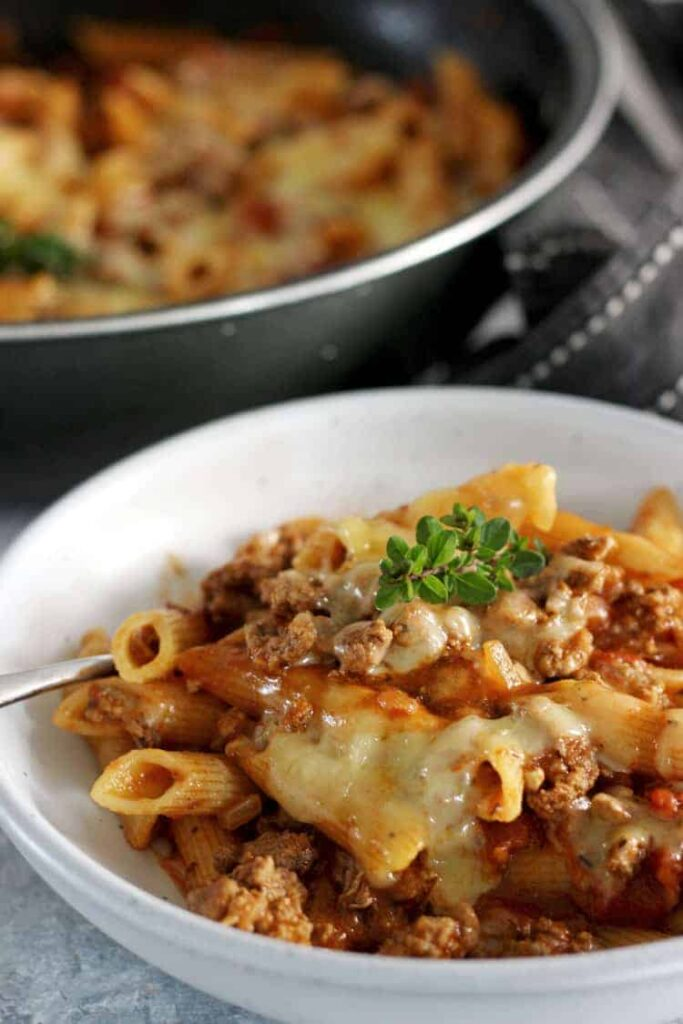 meat dishes that kids will love mince pasta