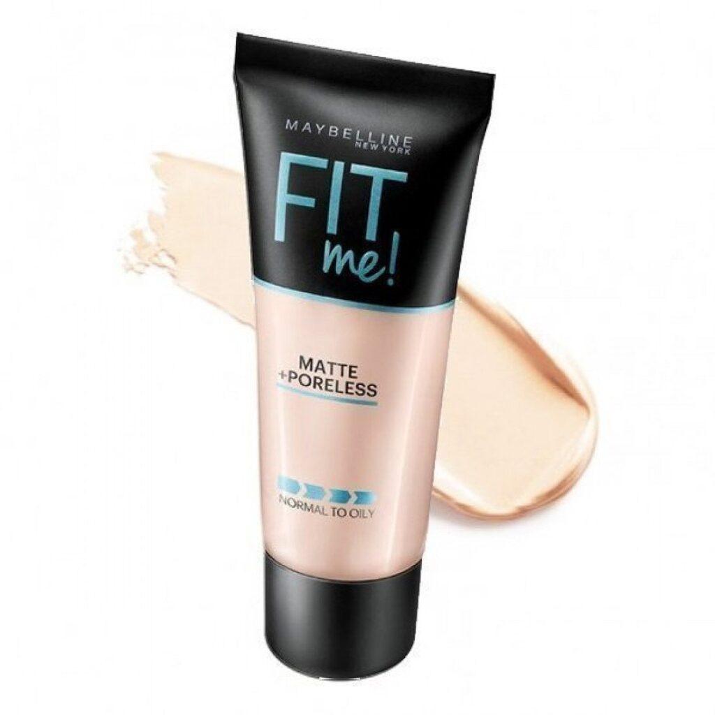 face basic makeup look foundation