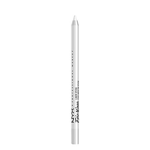 eyes basic makeup look white eye pencil