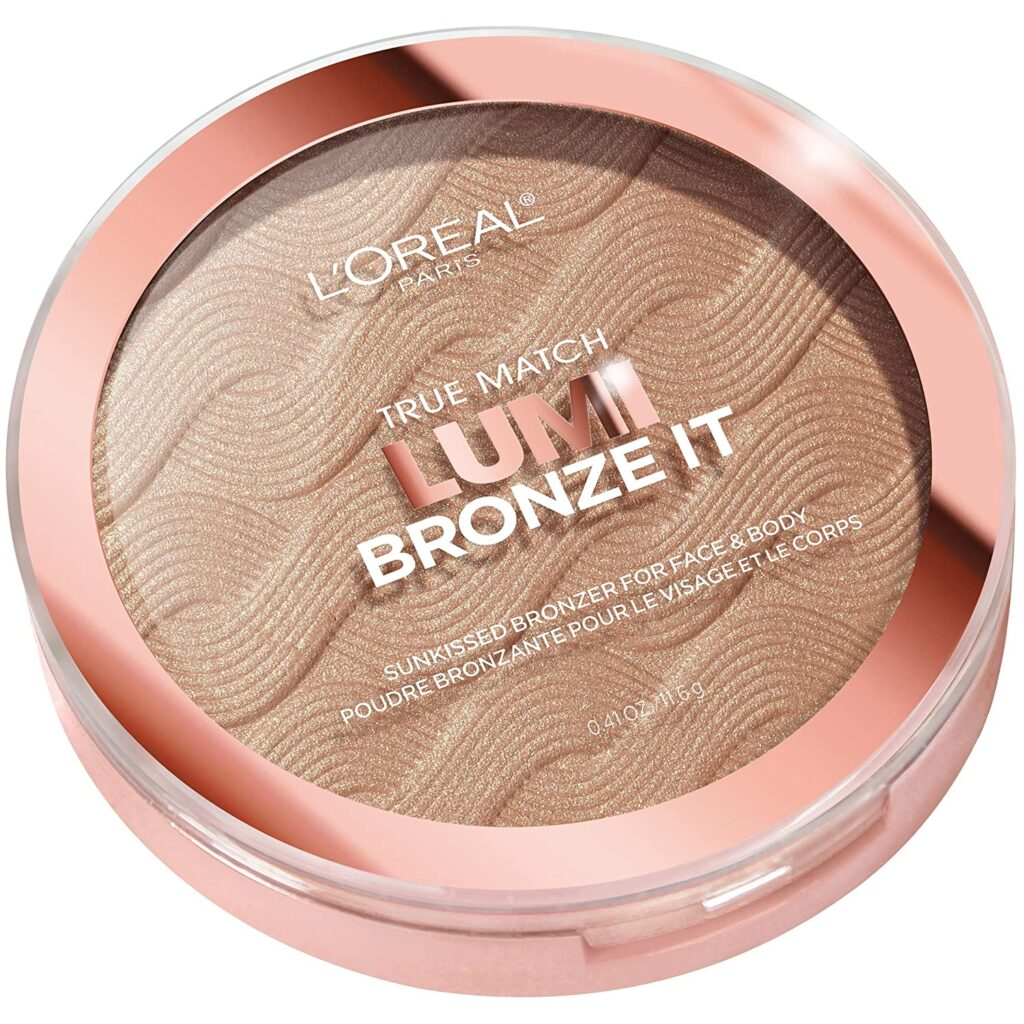 cheeks basic makeup look bronzer