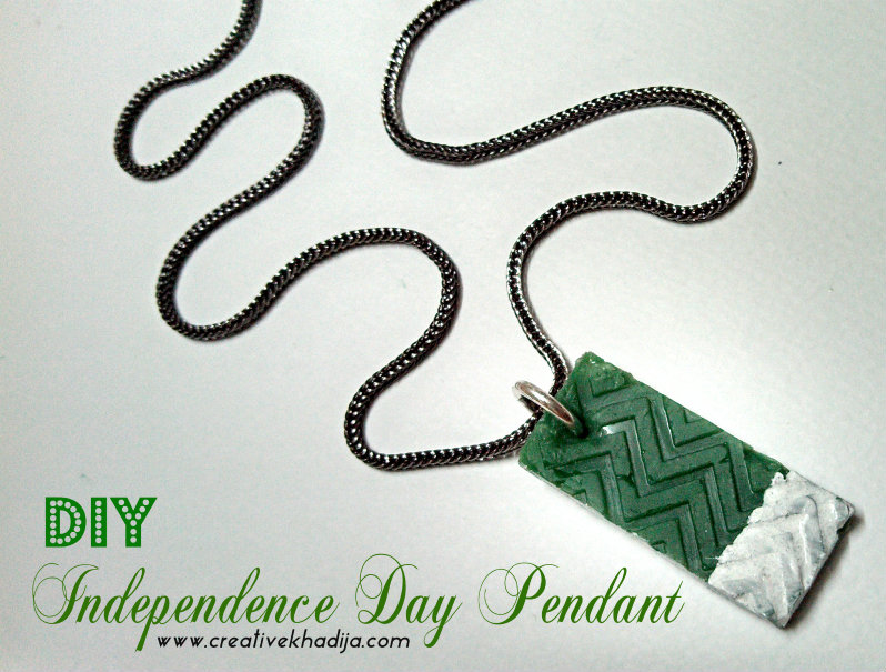 creative things to do for independence day pendant