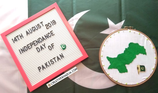 independence day crafts wall art