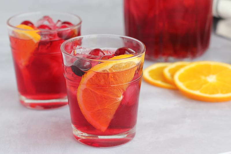 fruity summer refreshing drinks party punch