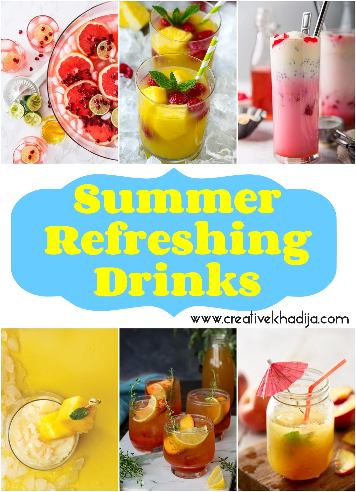 summer-refreshing-drinks