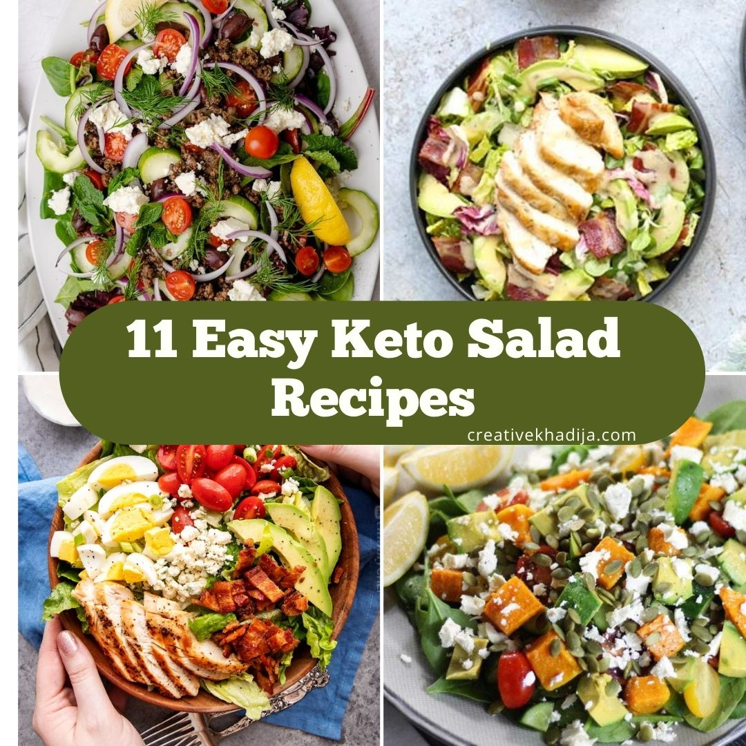 quick and easy keto salad recipes