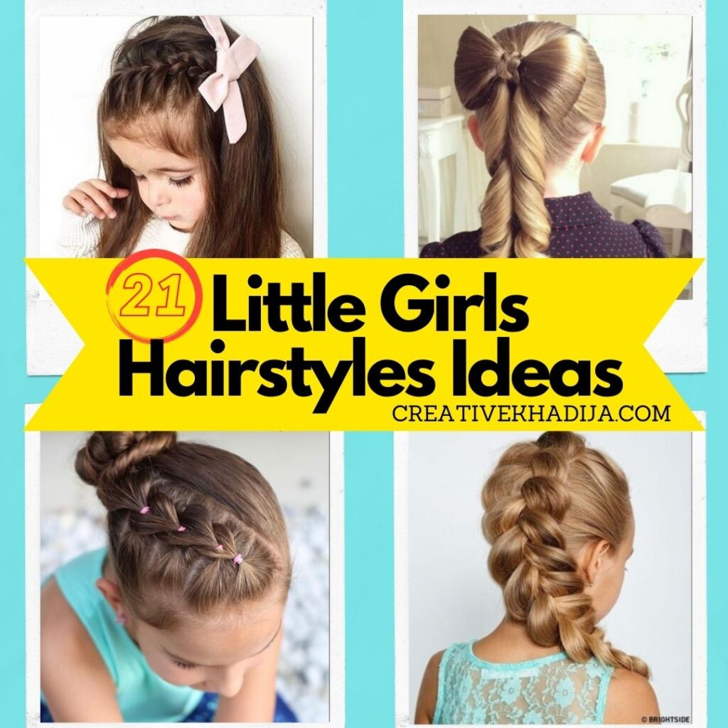 21 Little Girl Hairstyles Ideas To Try. Best ways to style girls hair.